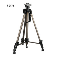 #2170 Champagne Aluminium Easel Adjustable Portable Tripod Easel For Painting