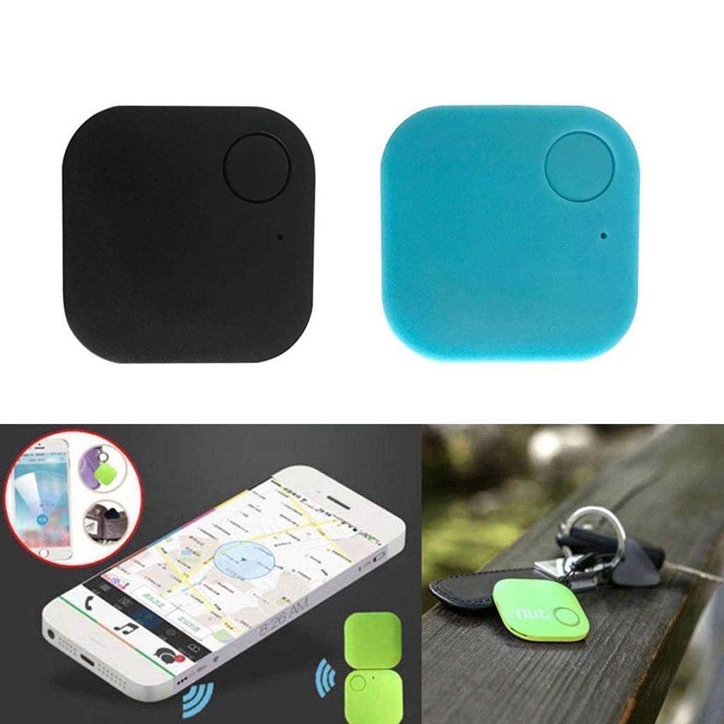Franchise Bluetooth 4.0 2pcs Smart GPS Finder Locator Pet Tracker Bluetooth Key Finder Wireless Seeker Google Maps ABS Plastic #