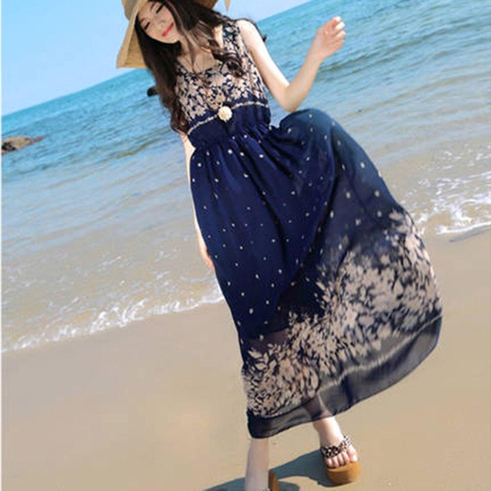 Ankle Length Beach Dress