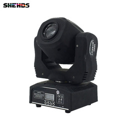 Mini punto 60 W LED de luz de la cabeza con los Gobos de placa y Color de alto brillo 60 W Mini luz Led cabeza móvil DMX512