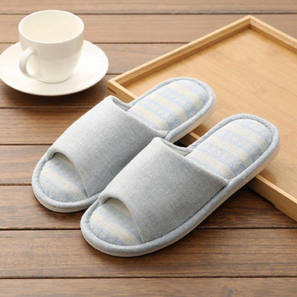 Woman Man New PVC+Cotton Slippers Indoor Chaussures Non-slip Shoes Femme Mules Fur Slippers Household Shoes Winter Autumn jooyoo 6