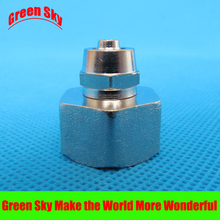 8mm OD Hose Barb Tail To 1/2 Inch BSP Female Thread Connector Joint SS 304 threaded stainless steel fittings 1bsp x 25mm id double ferrule tube pipe fittings threaded male connector stainless steel ss 304