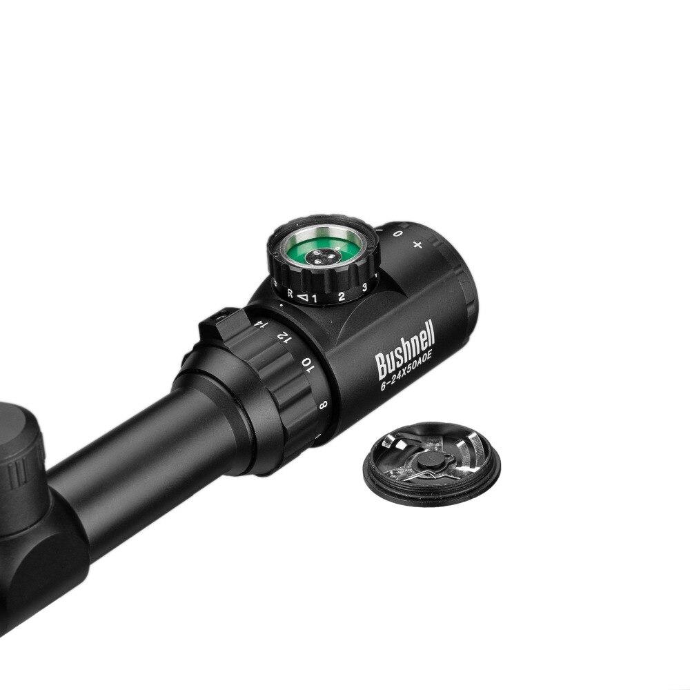 6-24x50 Aoe lunette de visée réglable vert rouge point chasse lumière portée tactique réticule optique portée de fusil - 5