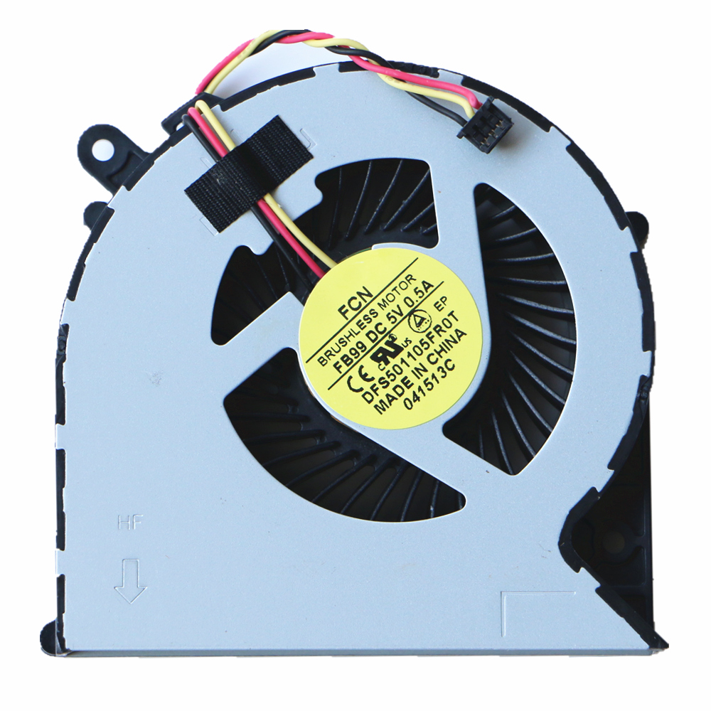 New Original Cpu Fan For Toshiba C850 C850D C870 C870D C875 L850 L870 L870D Cpu Cooling Fan DFS501105FR0T FB99 3Pin image