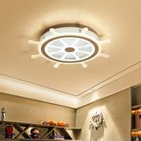 Children S Room Ceiling Light LED Modern Rudder Design Acrylic Protection Vision Children S Room Surface
