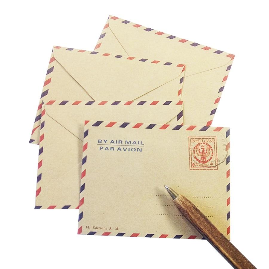 10 Pcs/lot Lovely Mini  Envelope Romantic Style Gift Envelop Greeting Card Postcard Envelops Stationery