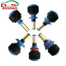 Фотография LED Car Headlight Bulb Canbus H7 100W 9600LM H1 H3 HB3 9005 HB4 9006 9012 12V Automobile headLamp Conversion Kit H4 Hi-Lo Beam