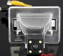 4 LED CCD HD ngiht видения автомобиля камера заднего вида парковки резервной системы Реверсивный камера заднего вида для Mazda 5 M5