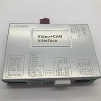 Integrated Camera Car Multimedia Solution for Mercedes Klass S V/X/W222 Front View Camera / DVR CVBS Input