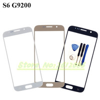 5.1'' New High quality Replacement LCD Front Touch Screen Glass Outer Lens For Samsung Galaxy S6 G9200 With Logo + Tools