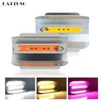 LED Floodlight 30W 50W 80W Outdoor Lighting AC 220V Spotlight Full Spectrum IP67 Waterproof LED COB Spot Light Wall Lamp