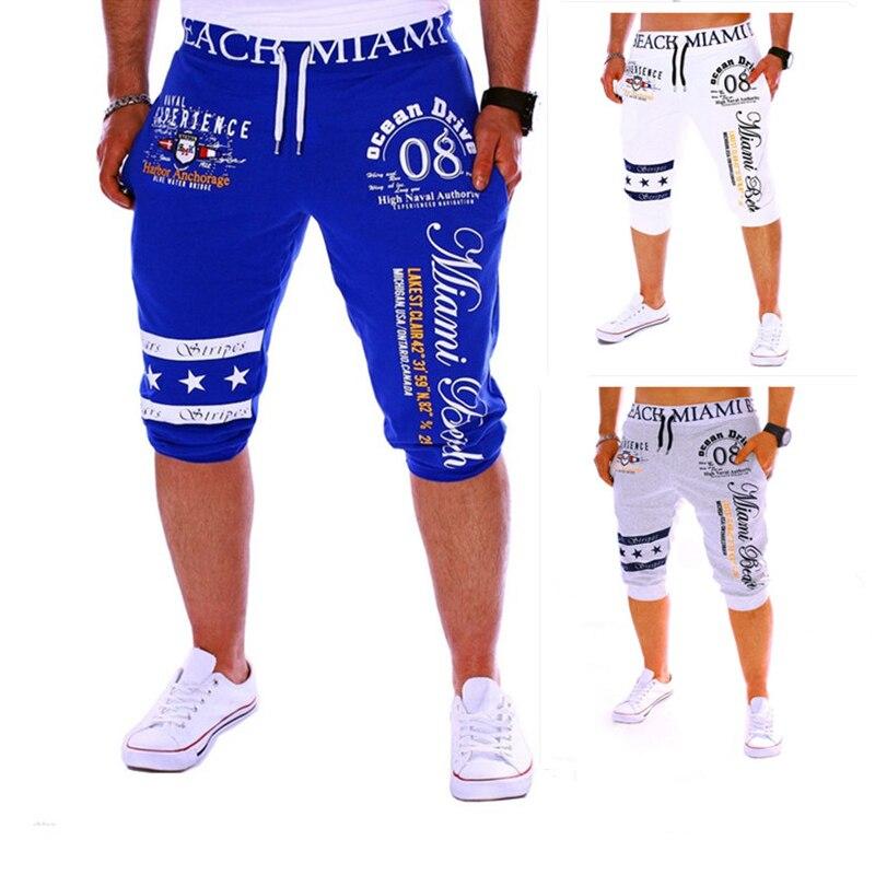 Konstruktiv Cholyl 2018 Sommer Tragen Student Digitaldruck Design Hip Hop Fitness Jungen Elastische Taille Casual Hosen Männer Jogginghose