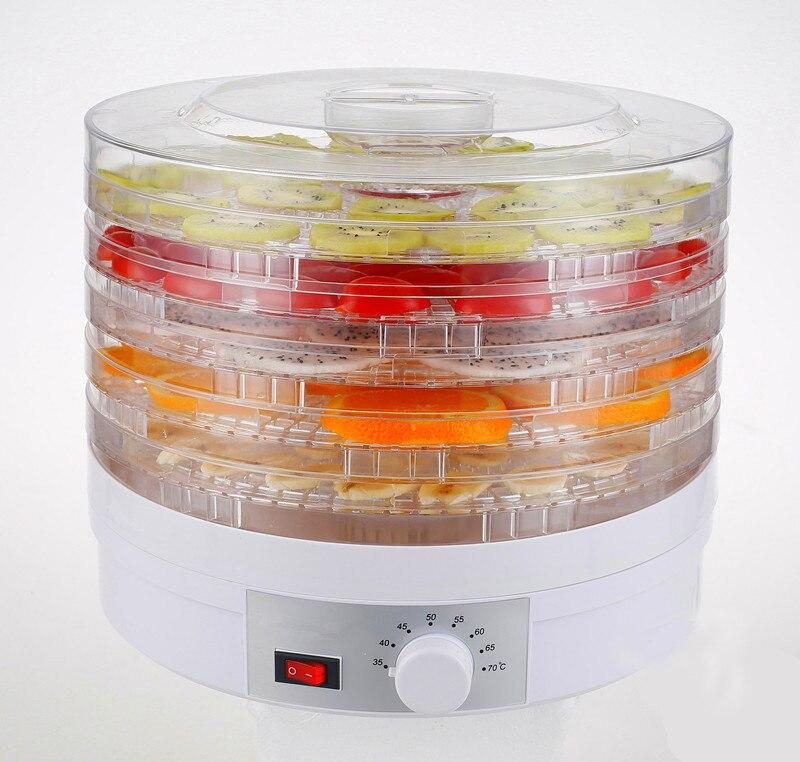 Biolomix robot culinaire fruits légumes herbe viande séchage Machine collations séchoir alimentaire déshydrateur de fruits avec 5 plateaux-in Déshydrateurs from Appareils ménagers    1