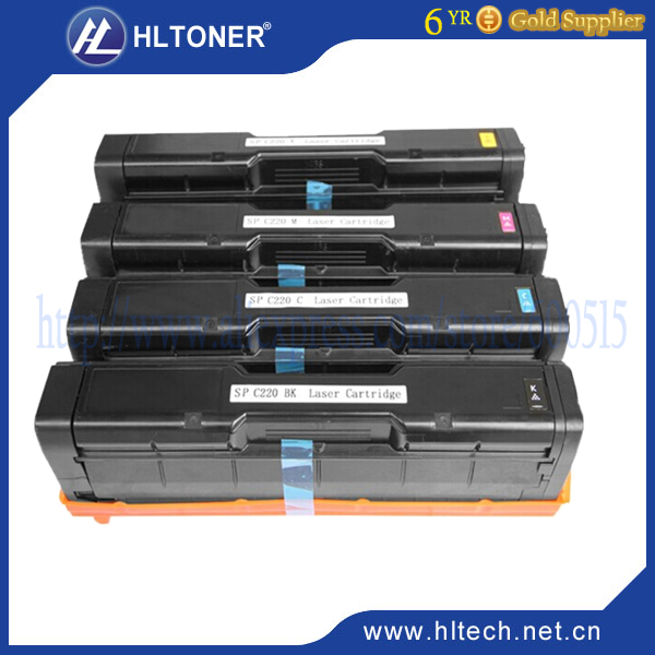 toner cartridge compatible Ricoh Aficio SPC250 C252 bk/m/c/y 4pcs/lot new in stock ve j61 cw
