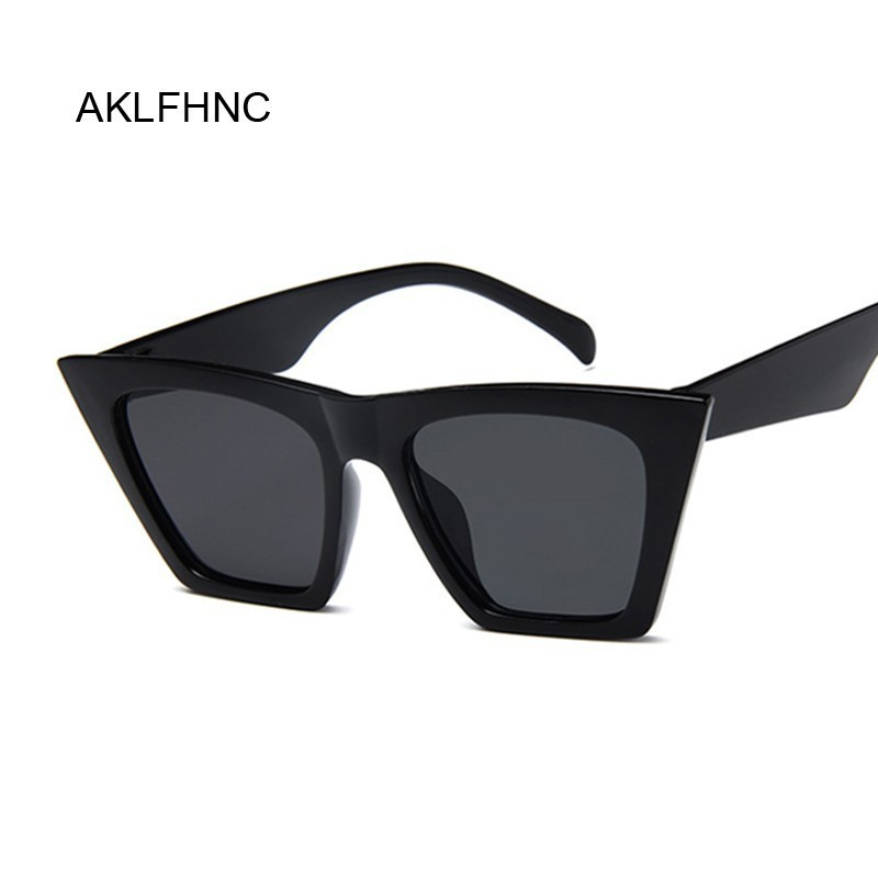 Fashion Cute Sexy Retro Cat Eye Sunglasses Women Vintage Brand Designer Round Sun Glasses For Female Color Lens UV400