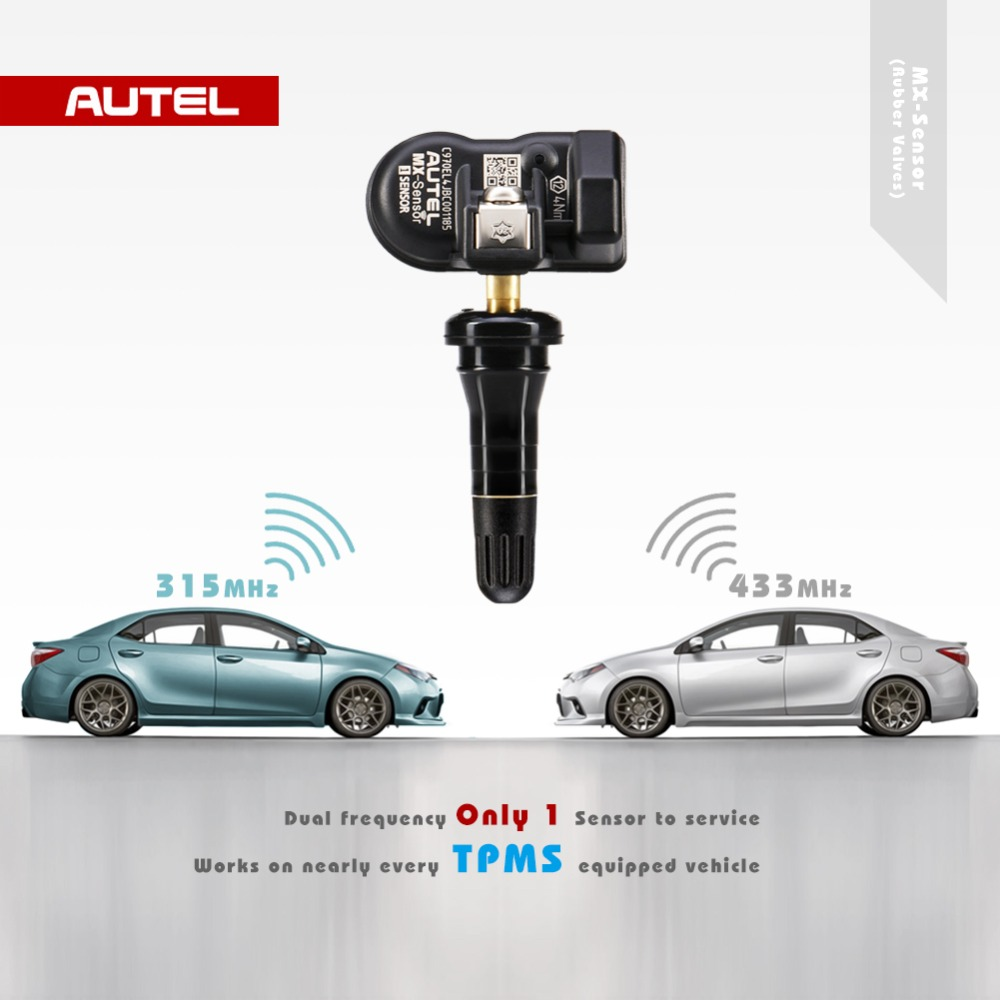 Image 4 - Autel TPMS MX Sensor 2 in 1 Sensor 433MHz 315MHz Programmer Universal TPMS Sensor Pressure Tester Programming MaxiTPMS TS601-in Pressure & Vacuum Testers from Automobiles & Motorcycles