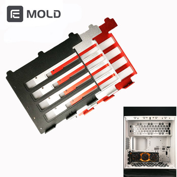 Graphics VGA Card Holder Aluminum Graphics Card side converted support computer cooling cooler Radiator Bracket free shipping networked graphics