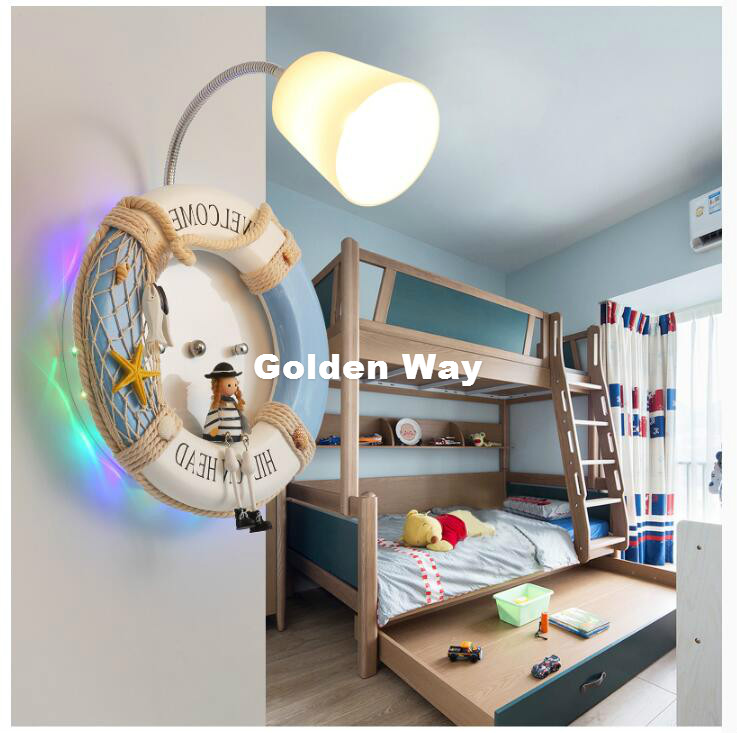 Modern Decora LED Creative Blue Rubber Children Room Lighting Wall Lamp Bedroom Wall Lamp Cartoon Childrens Wall Lamp LightingModern Decora LED Creative Blue Rubber Children Room Lighting Wall Lamp Bedroom Wall Lamp Cartoon Childrens Wall Lamp Lighting