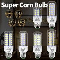 Bombilla Led E27 de mazorca de maíz, 220V, lámpara GU10, E14, 5730 SMD, 24, 36, 48, 56, 69, 72LED, 3W