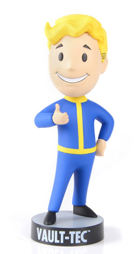 13cm Gaming Heads Fallout VaultBoy Action Figure Collectible Model Toys For Boys Girls Brinquedos