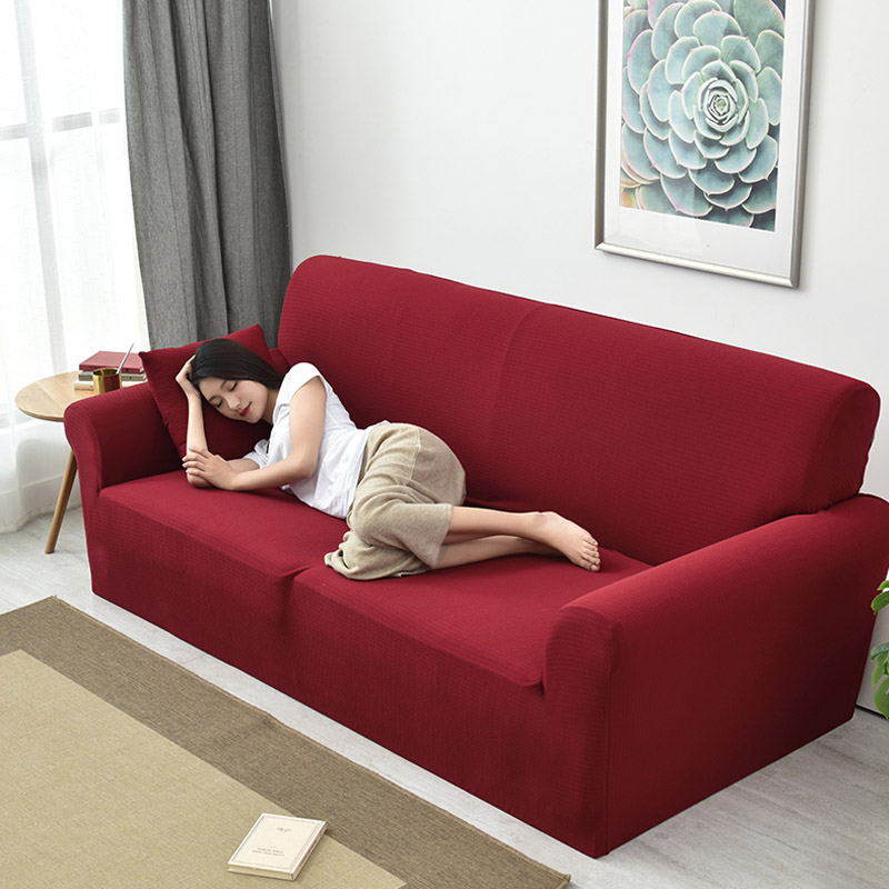 Thickened Waterproof Sofa Cover Spandex Sofa Covers Living Room