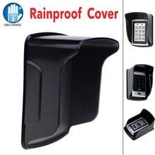 A prova di pioggia/Impermeabile Della Copertura Protecter per Standalone Controller RFID di Controllo di Accesso di Impronte Digitali Locker Accessori Nero