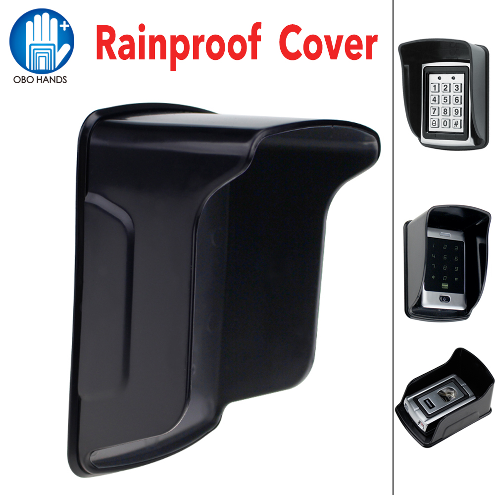 Rain proof/ Waterproof Cover Protecter for Standalone Access Control RFID Controller Fingerprint Locker Accessories Black-in Control Card Readers from Security & Protection