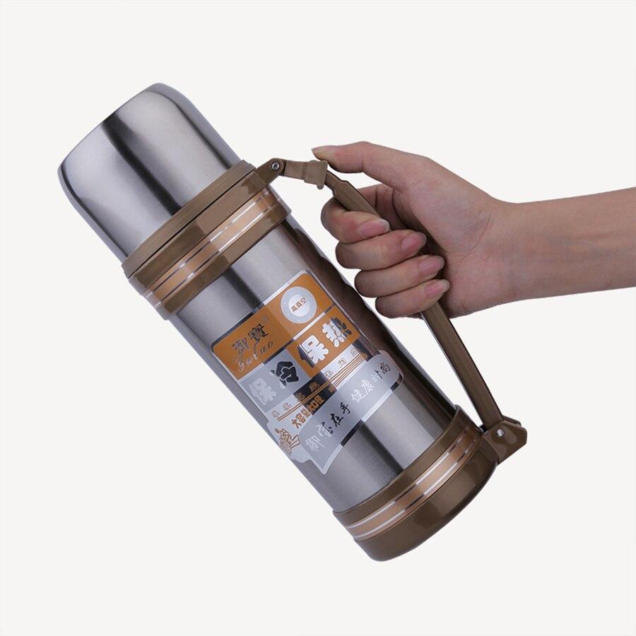 Bouilloire Isotherme en ce qui concerne biubiutua 1.2l thermos tasse bouilloire de voyage en acier