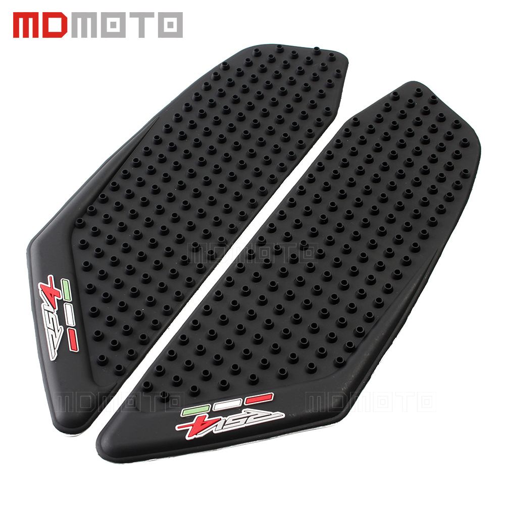 Motorcycle Tank Pad Protector Sticker Decal Gas Fuel Knee Grip Traction Side For Aprilia RSV4 2010 2011 2012 2013 2014 2015 2017 motorcycle tank pad protector sticker decal gas knee grip tank traction pad side 3m for suzuki hayabusa gsxr1300 2008 2009 2016