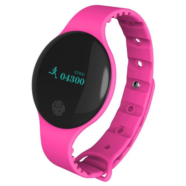 B8 Women Lady Fashion Smart Wristband Motion detection Smart Bracelet Fitness Tracker Alarm Clock Smart Watch Band Female Girl