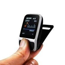 Original Sport MP3 reproductor de música reloj pulsera inteligente podómetro de alta fidelidad lossless Radio FM grabador reproductor de música portátil con 4 GB