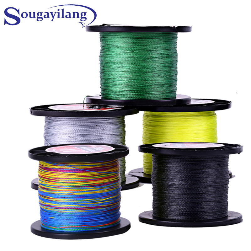 Top quality 500m super strong braided fishing line 5 for Best fishing line