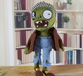 New hot sale 10pcs/set American plush toy anime figure doll toys Zombie Lawn of the Dead Plants vs. Zombies 30CM free shipping