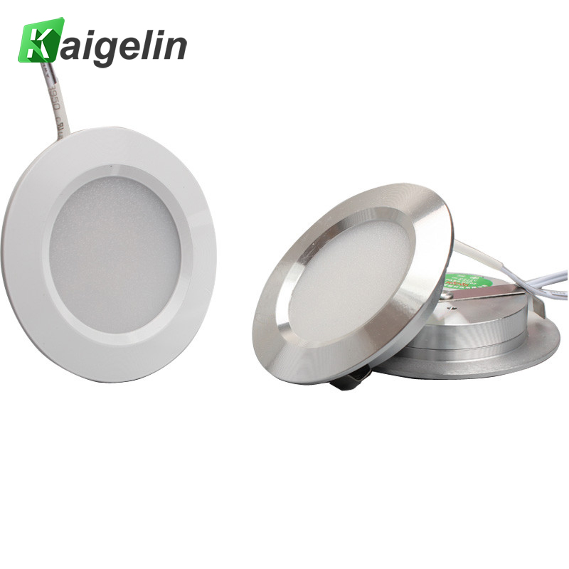 12V Ultra-Thin Concealed Mini LED Downlight LED Display Kitchen Under Cabinet Light With 2M Terminal Cable LED Lighting For Home