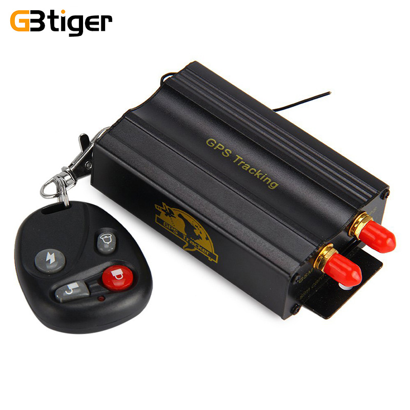 TK103B Car GPS Tracker Vehicle SMS GPRS Real Time Alarm Anti-theft Tracking Device Locator With Remote Control Antenna Mic Relay