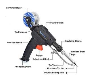 Image 2 - Toolour EU/US 60W Automatico Invia Tin Pistola tenuta in mano di Riscaldamento Interno Saldatore Stazione di Rilavorazione Dissaldatura pompa Strumento di Saldatura