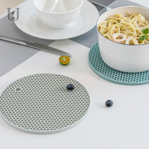 Image 1 - Youpin ürdün & Judy Beahive çift taraflı yemek Mat mutfak Anti demir Placemat kase fincan Mat kaymaz yumuşak Mat