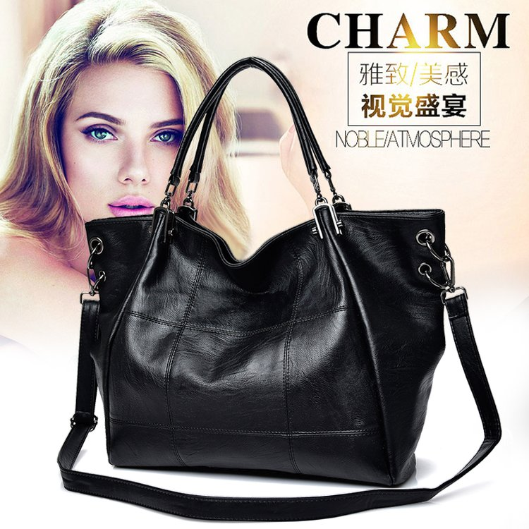 2018 Fashion Women Handbag Large Capacity Casual Hobo Bag Big Work Crossbody Messenger Bag Luxury Female Pu Leather Handbag Soft high quality pu leather women shoulder bag elegant fashion women crossbody bag female casual large capacity solid messenger bag