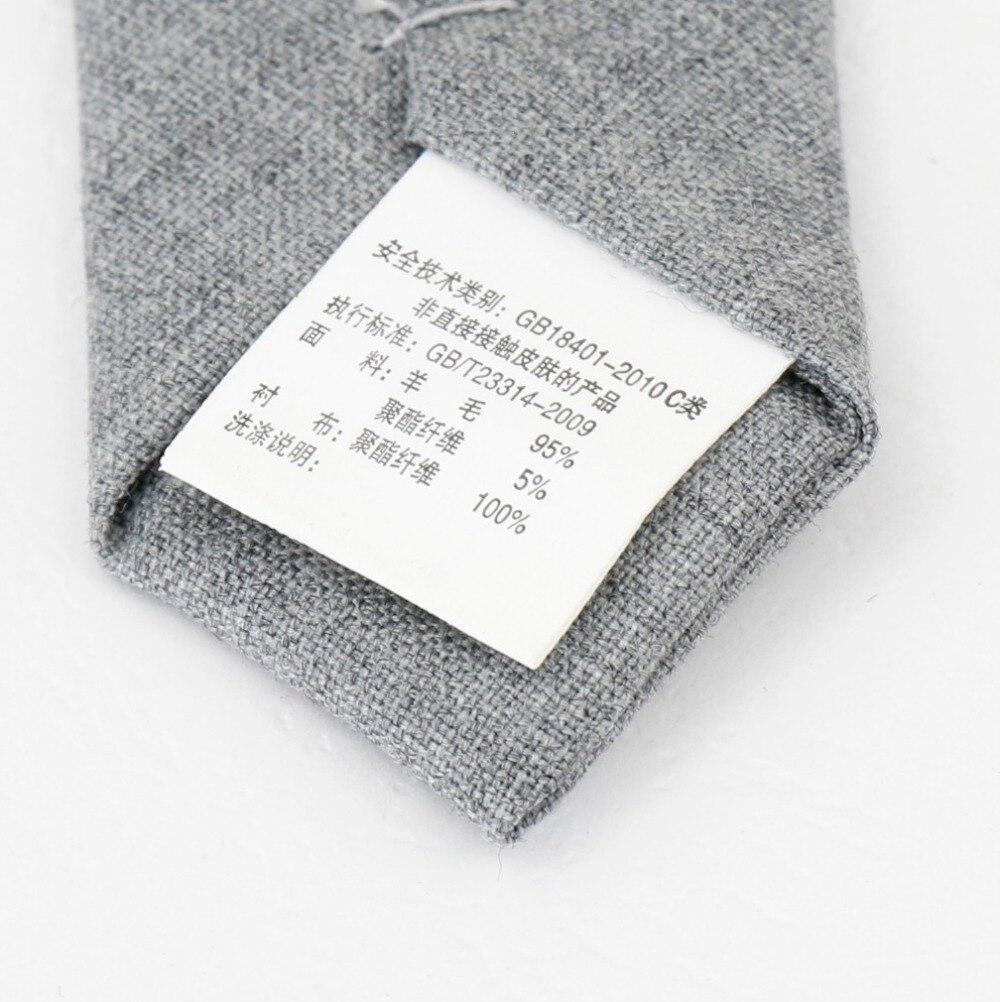 Lujo comercial lana clásica Color Patchwork costura corbata corbatas ...