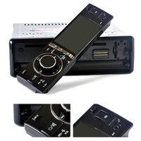 Горячая 1 din универсальный dvd-плеер автомобиля 3 дюйма цифровой Сенсорный экран авто Радио Bluetooth моторизованный Экран CD DVD SD AM AUX Камера