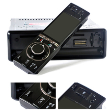 On sale Hot 1 Din Universal Car DVD Player 3inch Digital Touch Screen Auto Radio Bluetooth Motorized Screen CD DVD SD AM AUX Camera