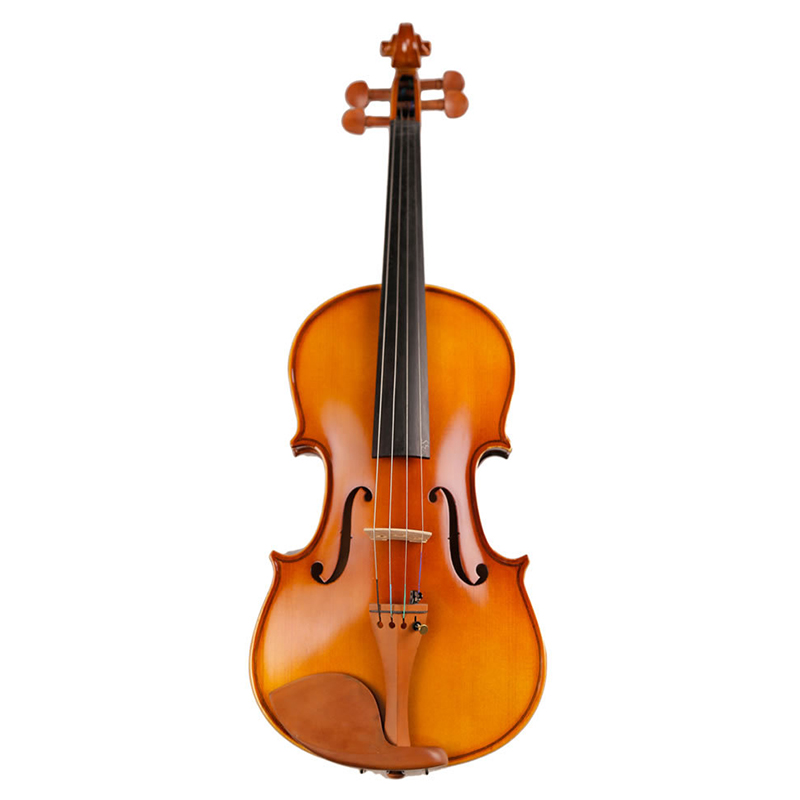 Handmade Beginner Violin 4/4 3/4 1/2 1/4 1/8 Acoustic Solid Wood Violin High-end Antique Violin musical instrument with Case beautiful sky blue violin high quality china acoustic violin 1 4 3 4 4 4 1 2 1 8 size send with bag