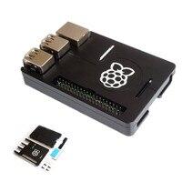 Ultra Thin Aluminum Alloy CNC Case Portable Box Support GPIO Ribbon Cable For Raspberry Pi 3