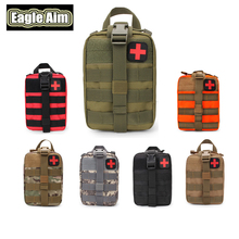 High Quality EDC Molle Tactical Pouch Bag Emergency First Aid Kit Bag  Outdoor Travel Camping Hiking Climbing Medical Kits Bags цены