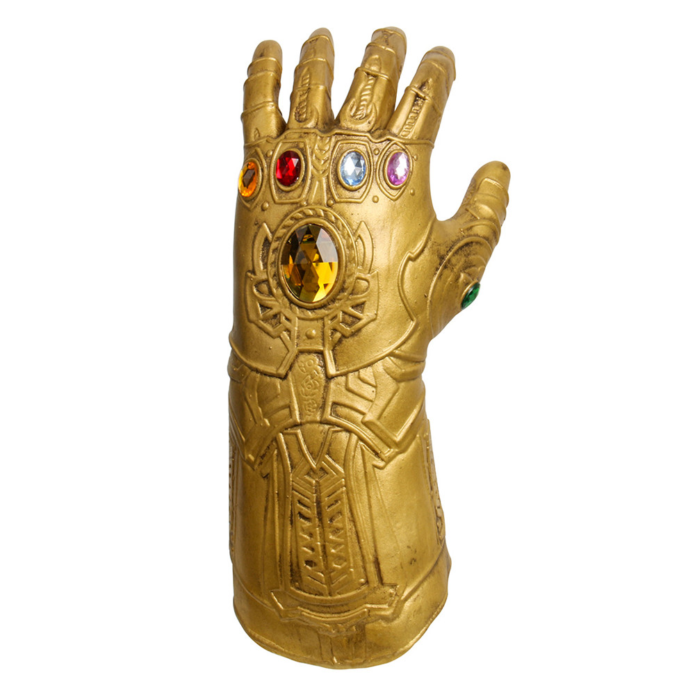 Kids Boys Girls Avengers 4 Endgame Thanos Gauntlet Plastic Gloves Party Holiday Halloween Cosplay Props Toys For Children High Safety Novelty & Special Use