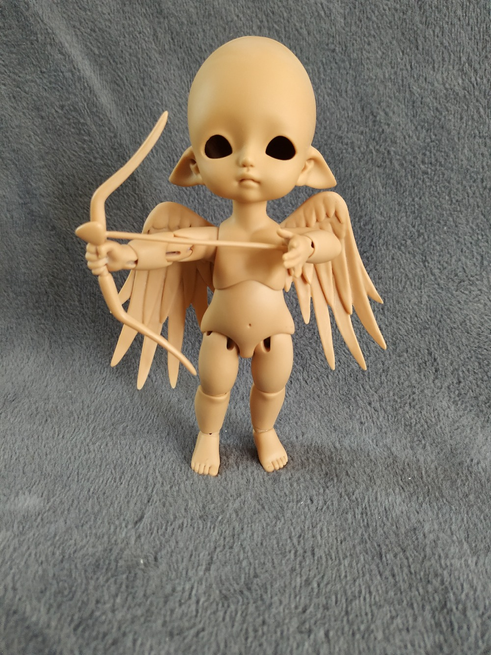 1/8 BJD doll  elf angel toy free eyes-in Dolls from Toys & Hobbies    1