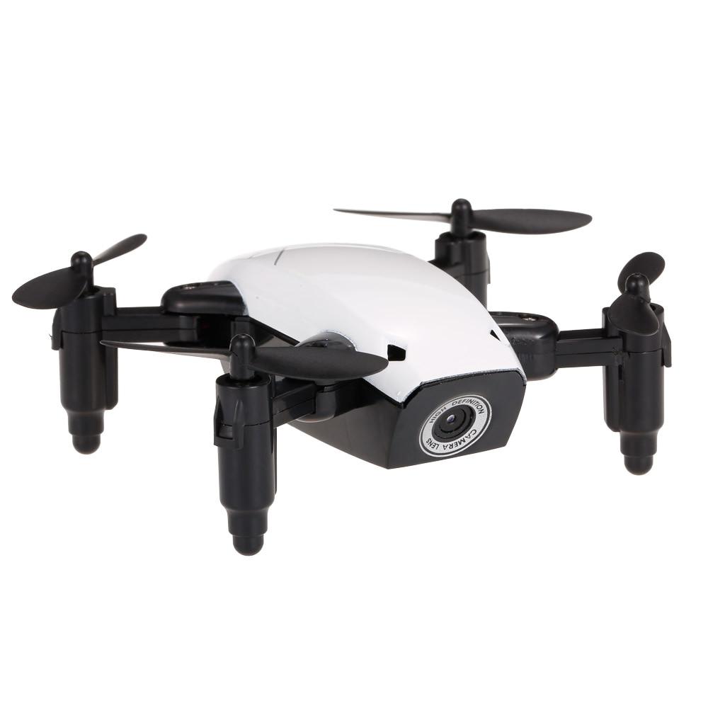 New Cute Mini Drone S9 2.4G 4CH 6-axis Gyro Selfie Drone Headless Mode One Key Return Foldable Dron RC Quadcopter RTF Gift (13)