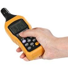 Portable LCD Display Digital Thermometer Hygrometer Handheld Temperature Humidity Meter Analog Back Light Data Log Tester Sensor
