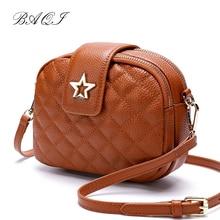 BAQI Women Shoulder Bags Handbags 2019 Fashion Genuine Cow Leather Luxury Designer Women Messenger Bag Crossbody Bag Lady Girls