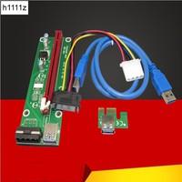 USB 3 0 PCI E PCI E Express 1x To 16x Extender PCIe Riser Card Adapter